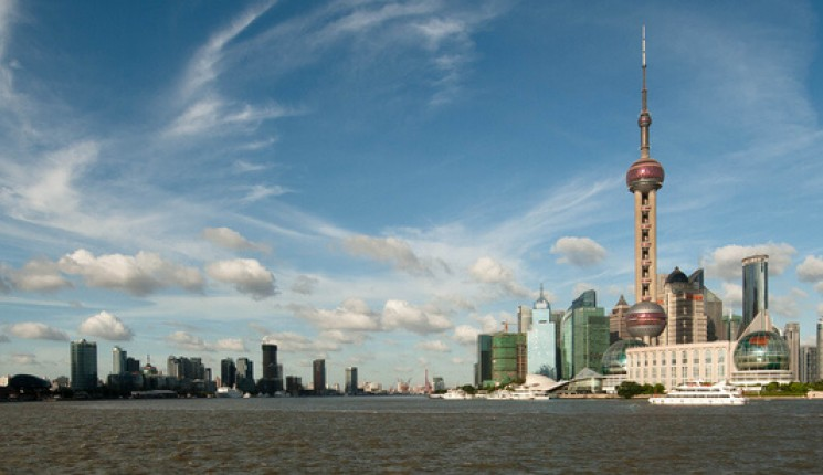 China: Evening in Pudong (2/2)