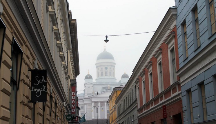 Finland : Helsinki's Lutheran Cathedral