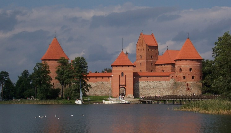 Lithuania : Trakai, Lithuania: Island Castle