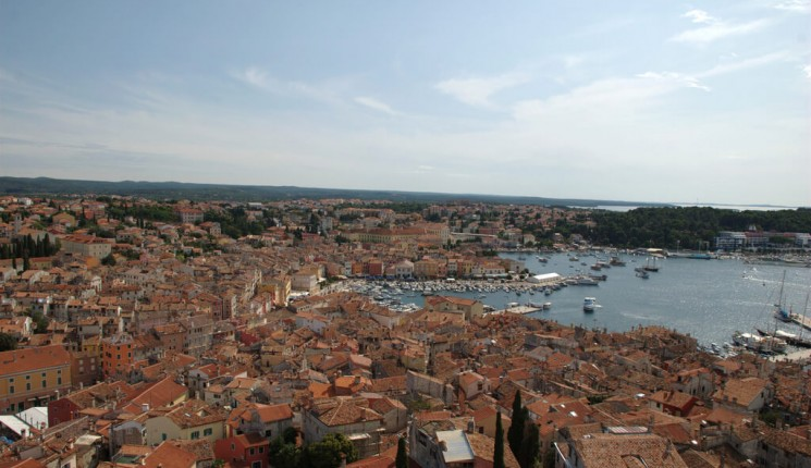 Rovinj : Roofs of Rovinj