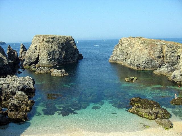 Le Télégramme Belle Ile En Mer Marche Aquatique Les